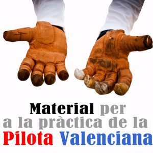 MATERIALS PILOTA VALENCIANA